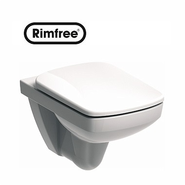 Унитаз подвесной KOLO NOVA PRO RIMFREE, SOFT CLOSE (M39018000)